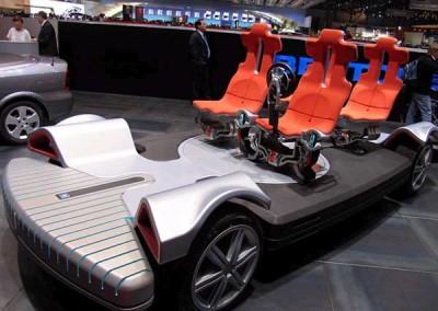Carousel at the Geneva Auto Show
