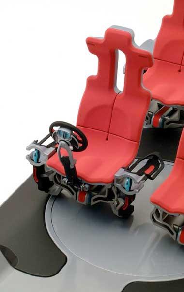 Carousel Driving Seat