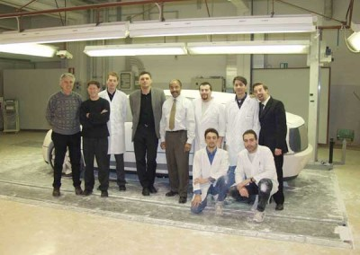 Hy-Wire Engineering and Design Team in Italy